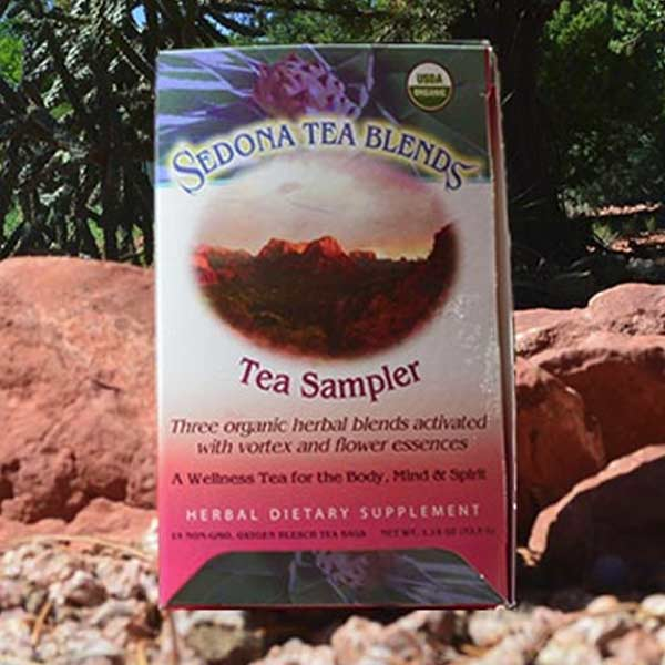 Sedona Tea Sampler 16ct Organic Tea Bags