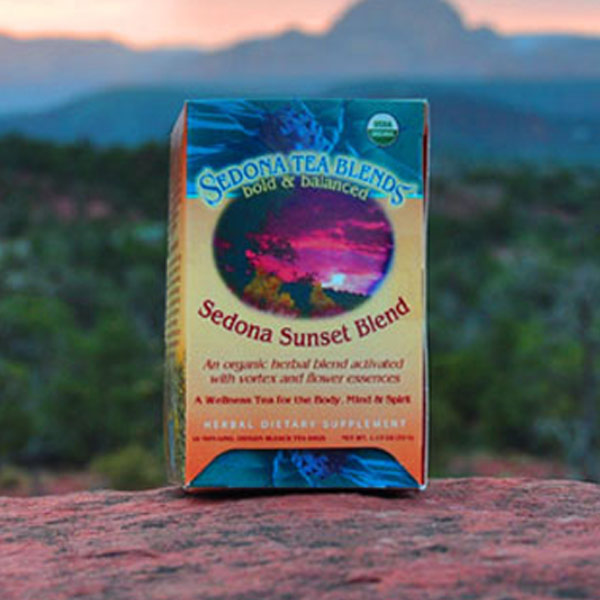Sedona Sunset Blend 16ct Organic Tea Bags